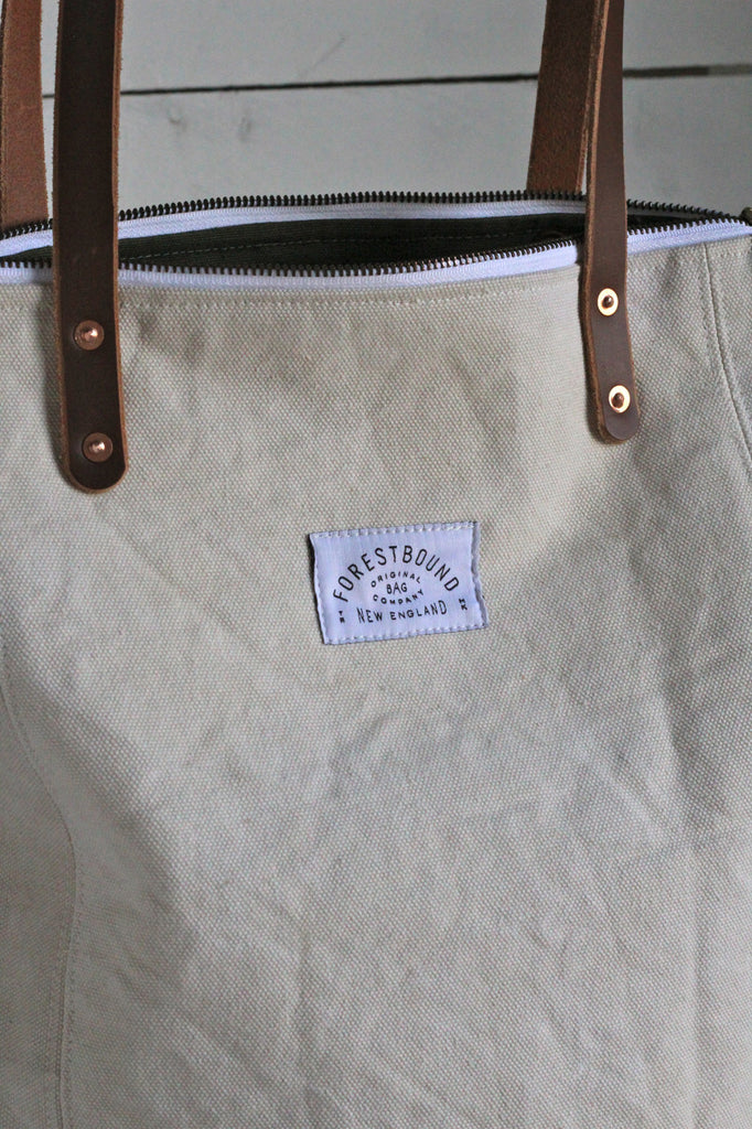 The Rambler Tote / WWII era US Navy Canvas