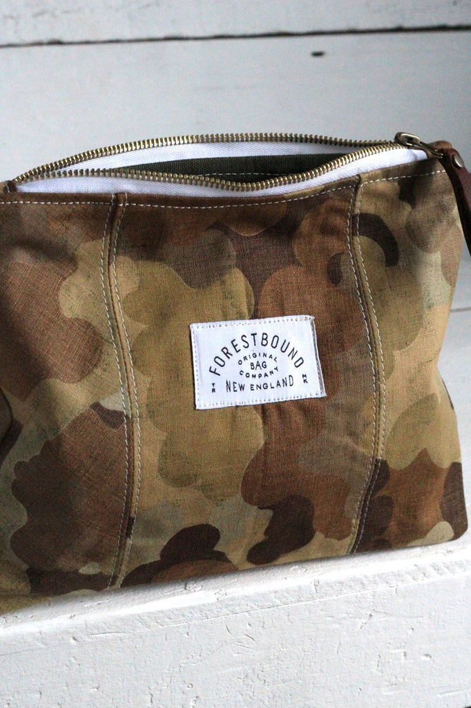 1950's era Cloud Camo Utility Pouch