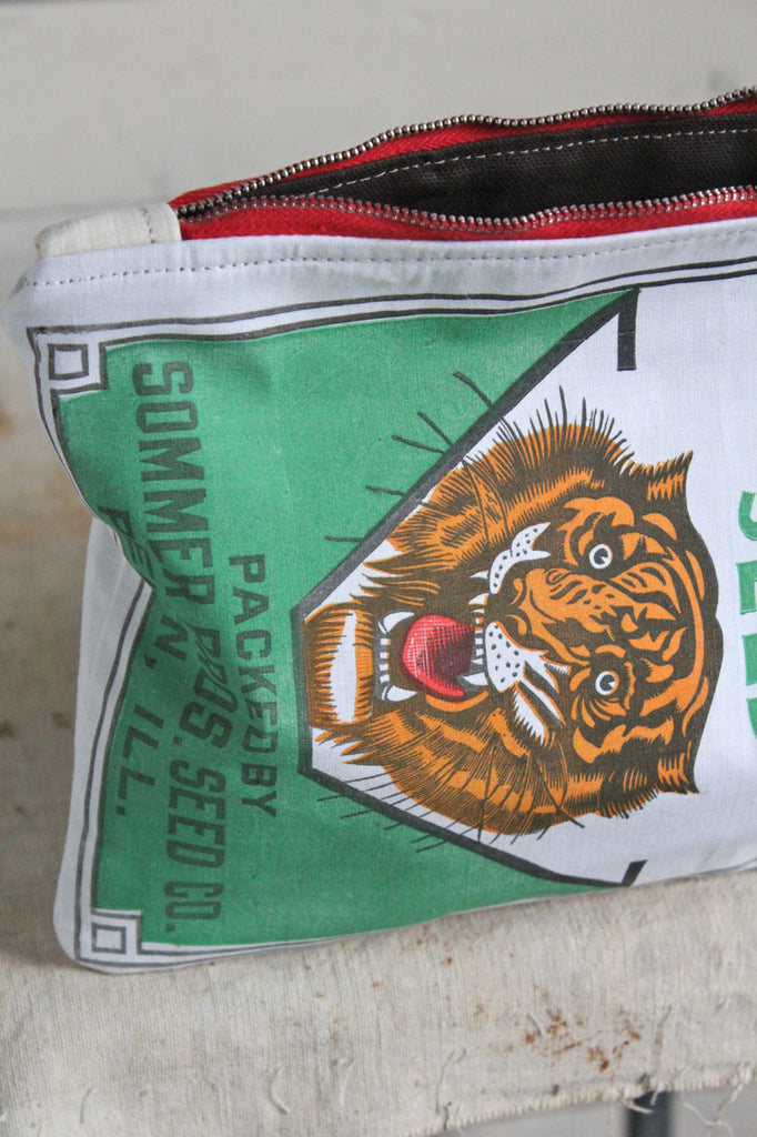 1950's era Tiger Head Utility Pouch