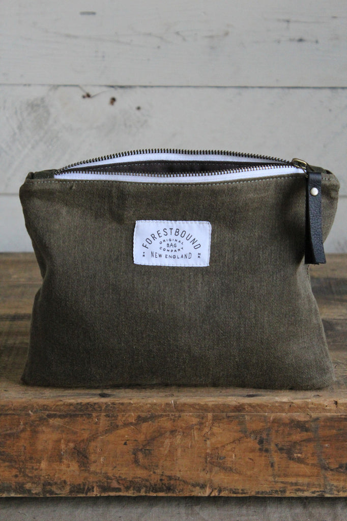 World War 1 era Canvas Utility Pouch