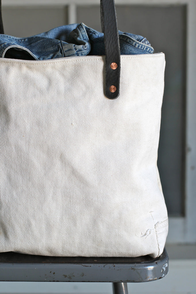 WWII era Sea Bag Canvas Tote