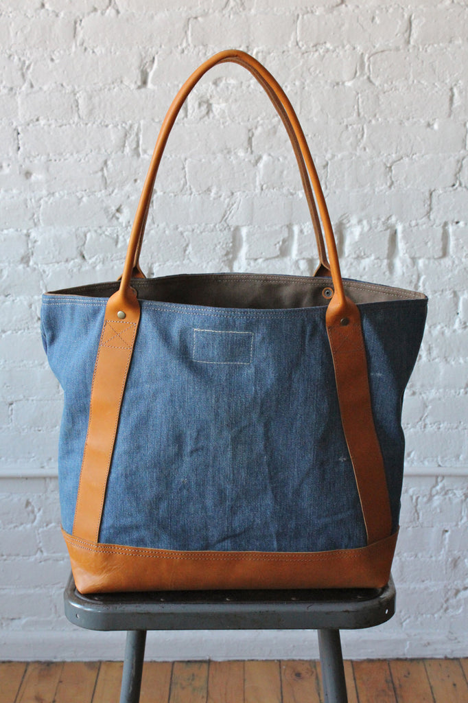 1940's era US Navy Denim Carryall