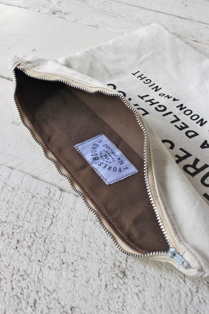 1950's era Cotton Logo Pouch