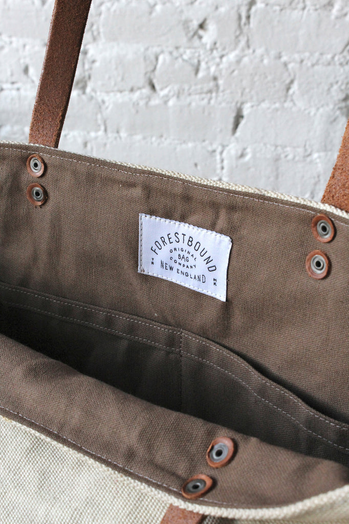 WWII era US Navy Canvas Tote Bag