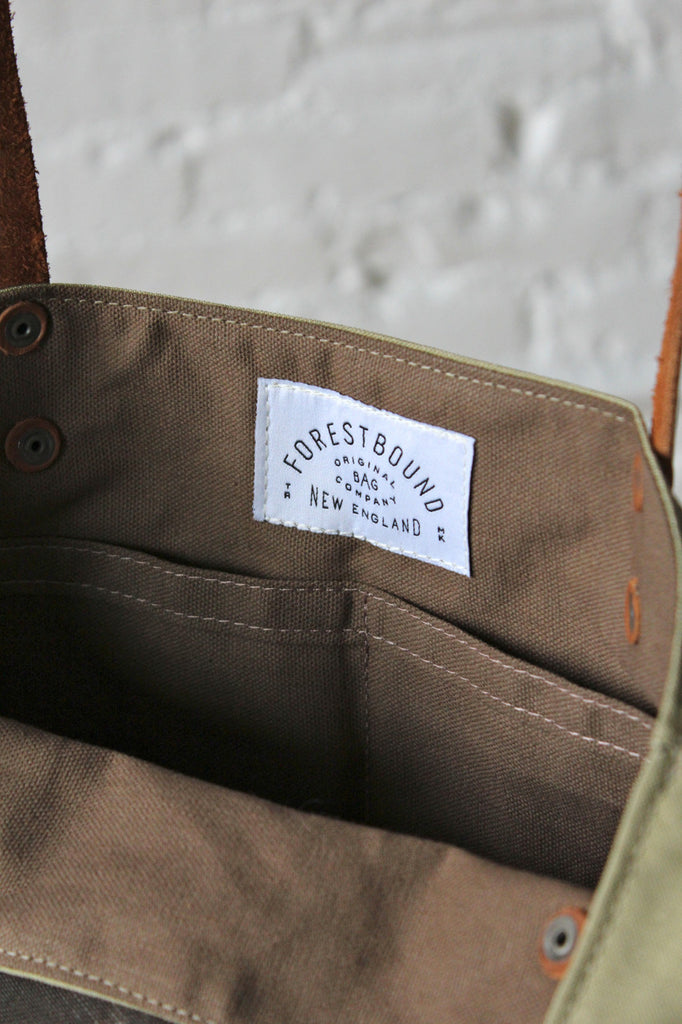 1950's era Mail Bag Canvas Pocket Tote Bag