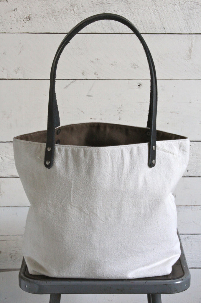 1940's era Canvas Delight Tote Bag