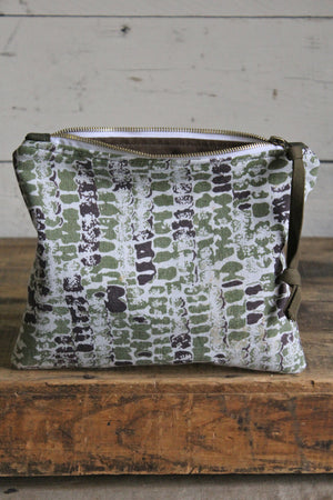 1950's era Printed Cotton Utility Pouch