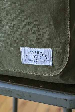 WWII era US Military Canvas Pocket Tote Bag