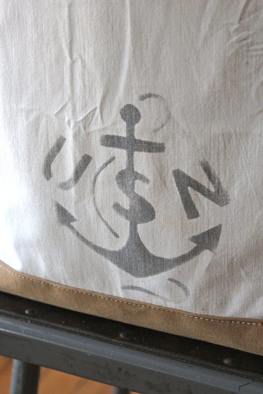 WWII era US Navy Cotton Carryall