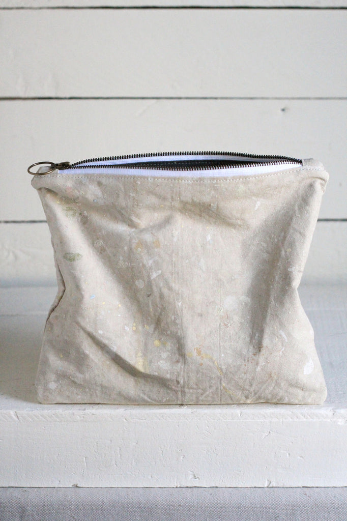 1960's Painter's Drop Cloth Utility Pouch