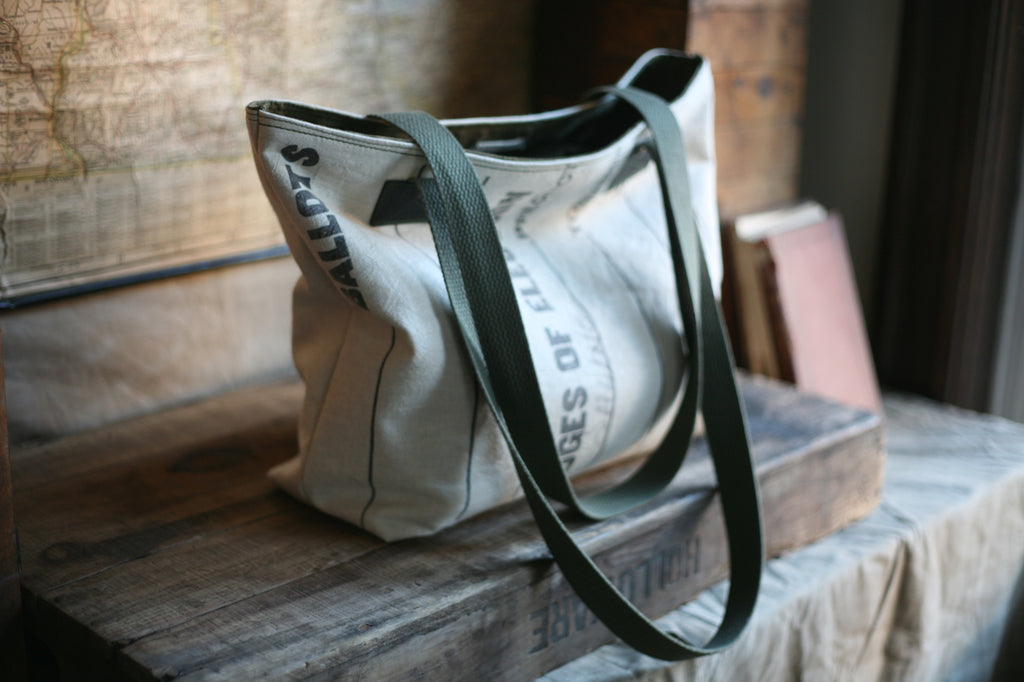 1960's era Canvas Carryall - SOLD