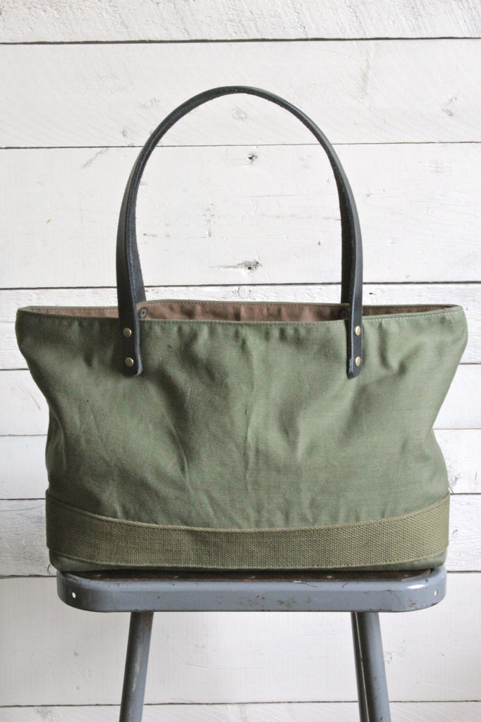 1950's era Camp Duffel Tote Bag