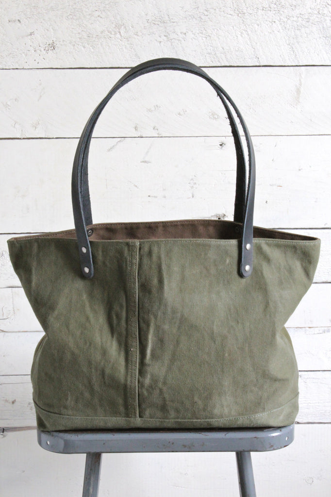 WWII era Canvas Delight Tote Bag