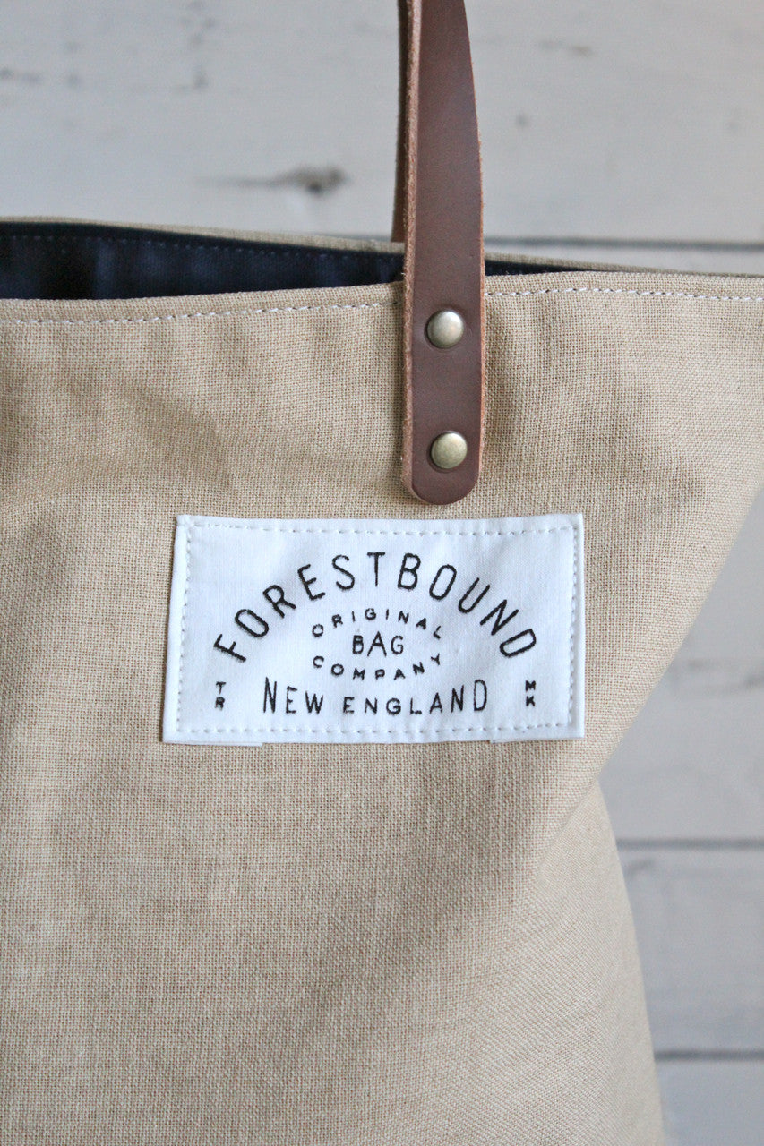 1930's era Canvas Tote Bag