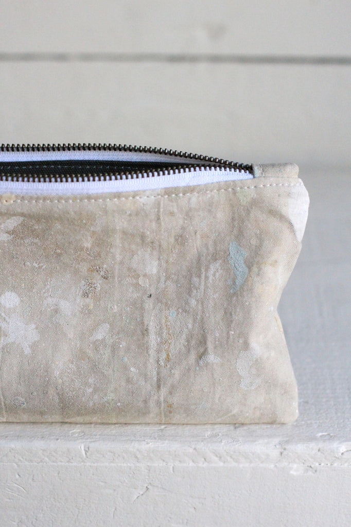 1960's era Painter's Drop Cloth Utility Pouch