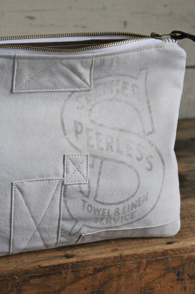 1940's era Patched Canvas Utility Pouch