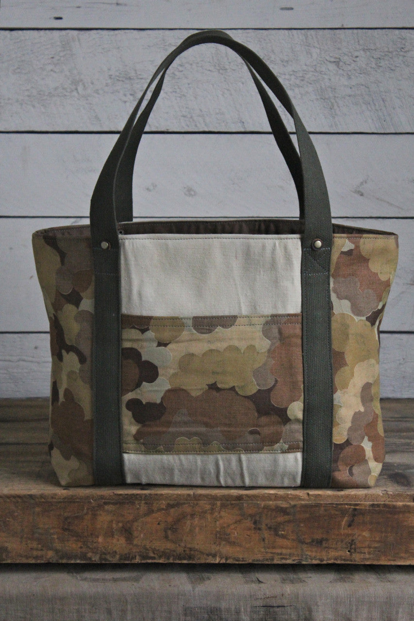 1950's era Thunderbird Cloud Camo Carryall by Forestbound