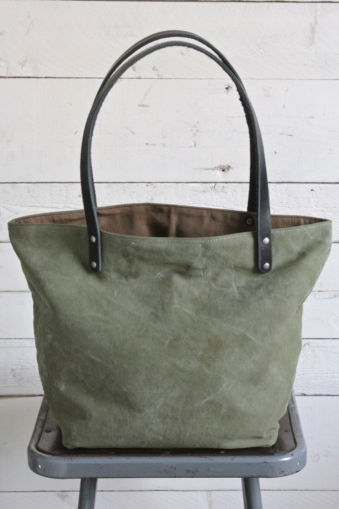 WWII era US Military Canvas Tote Bag