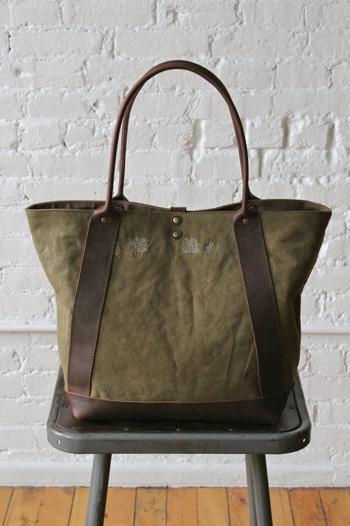 WWII era Military Canvas Carryall