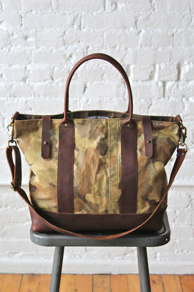 1953 Korean War Mitchell Cloud Camo Weekend Bag