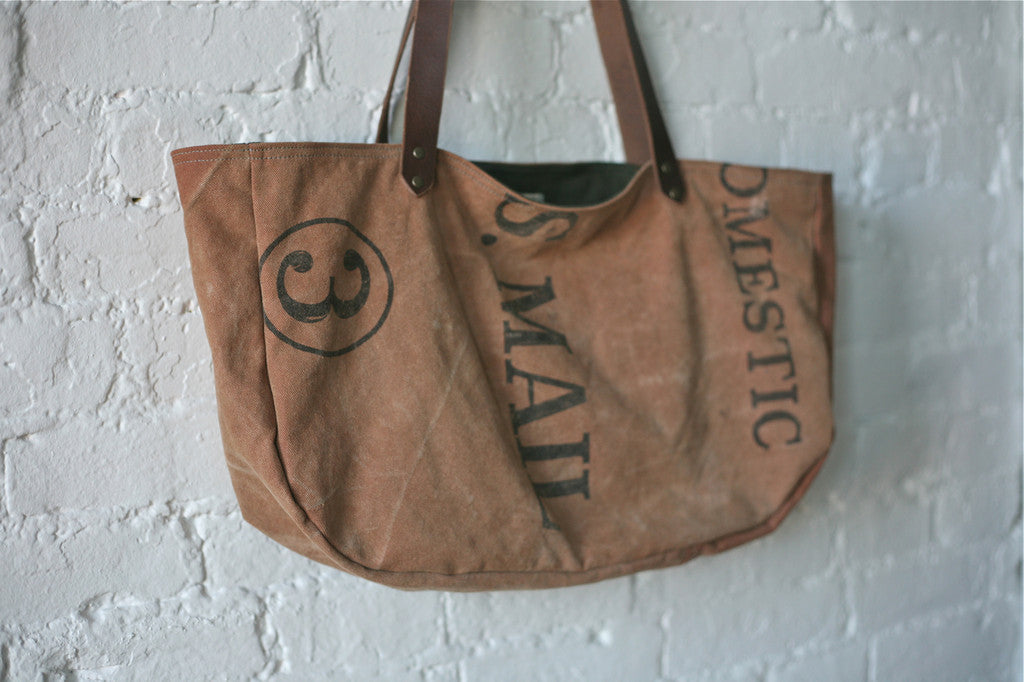 1950's era Canvas Carryall - SOLD