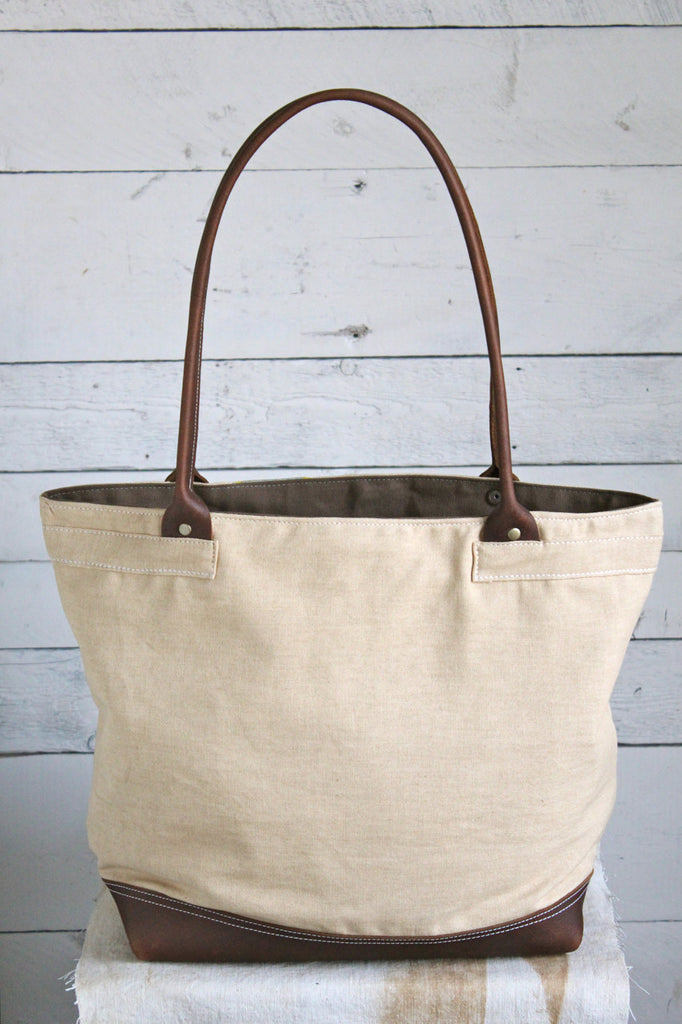 1930's era Canvas Banner Carryall