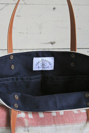 1940's era Feed Sack Tote Bag