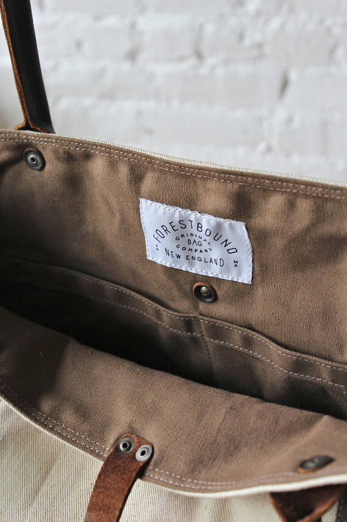 WWII era US Navy Canvas Weekend Bag