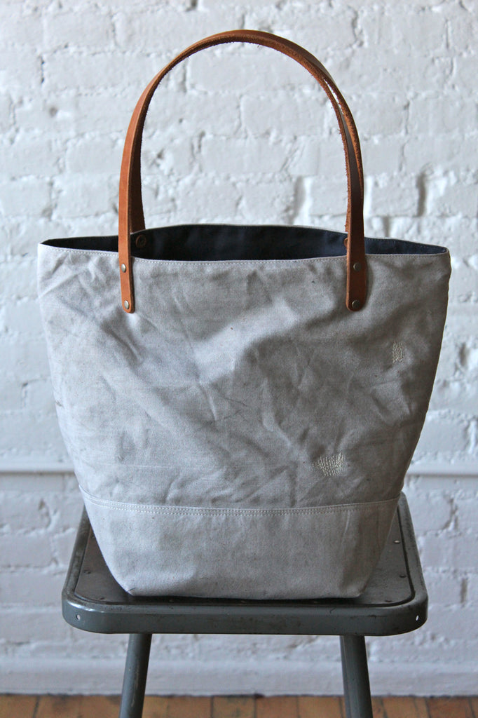 1950's era Canvas and Work Apron Tote Bag