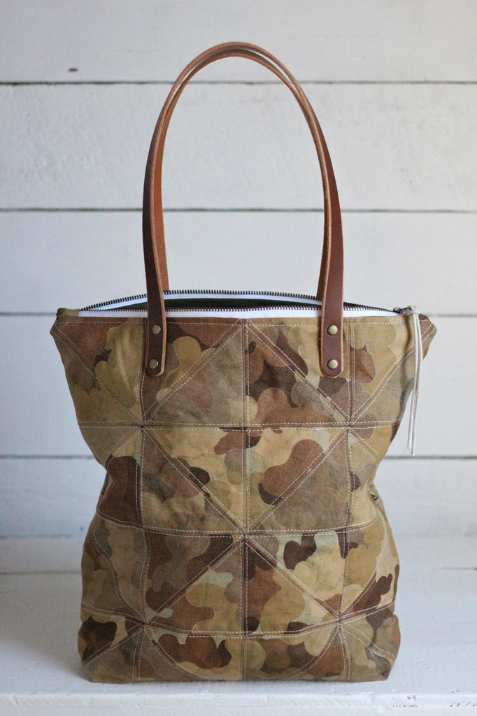 The Rambler / Quilted 1950's era Cloud Camo