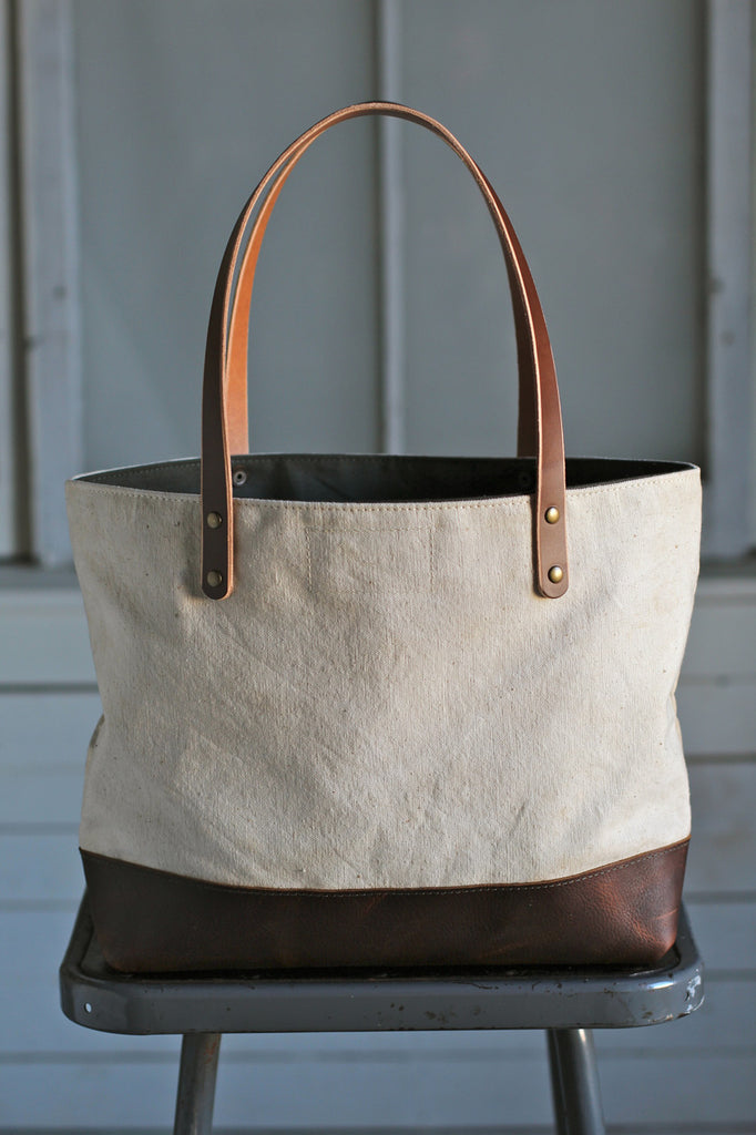 1950's era Canvas Carryall