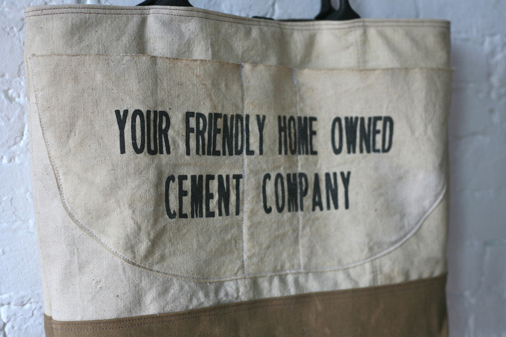 1930's era Work Apron Carryall - SOLD