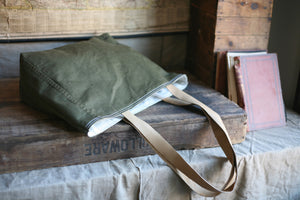 WWII era Canvas Tote Bag - SOLD