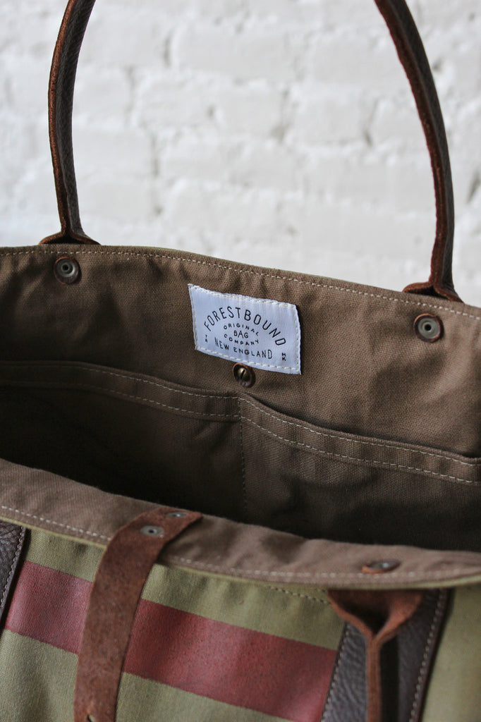 1950's era Mail Bag Weekender