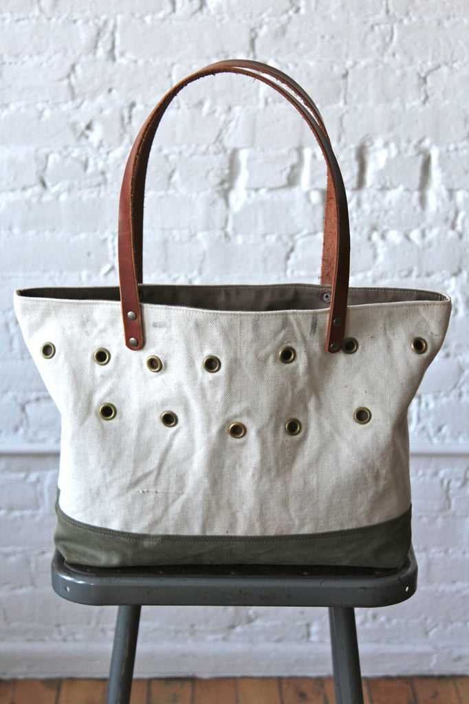 1930's era Canvas Bait Bag Carryall
