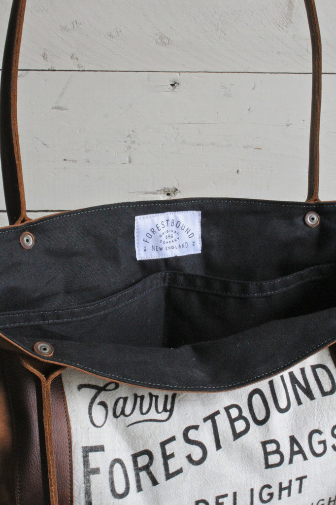 1920's era Canvas Carryall