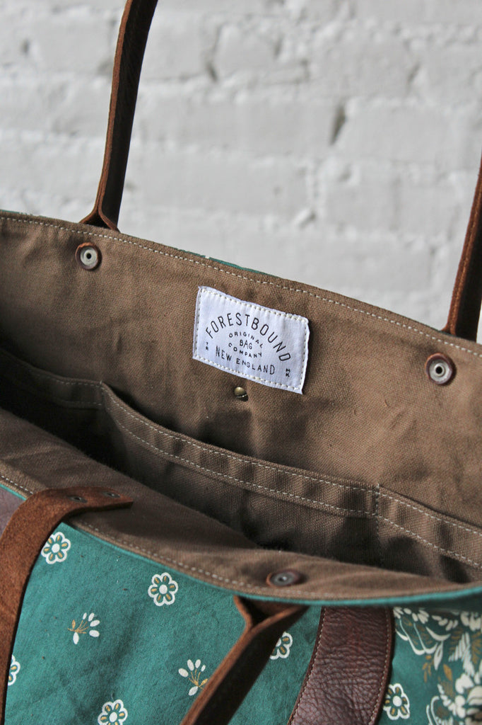 Salvaged Bandana Weekend Bag