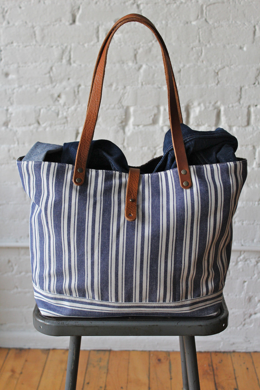 d3b66c0e5 Liberty Stripe Cotton & Work Apron Tote Bag - FORESTBOUND