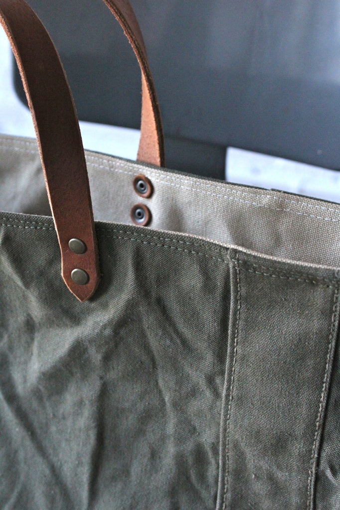 WWII era Military Canvas Tote Bag