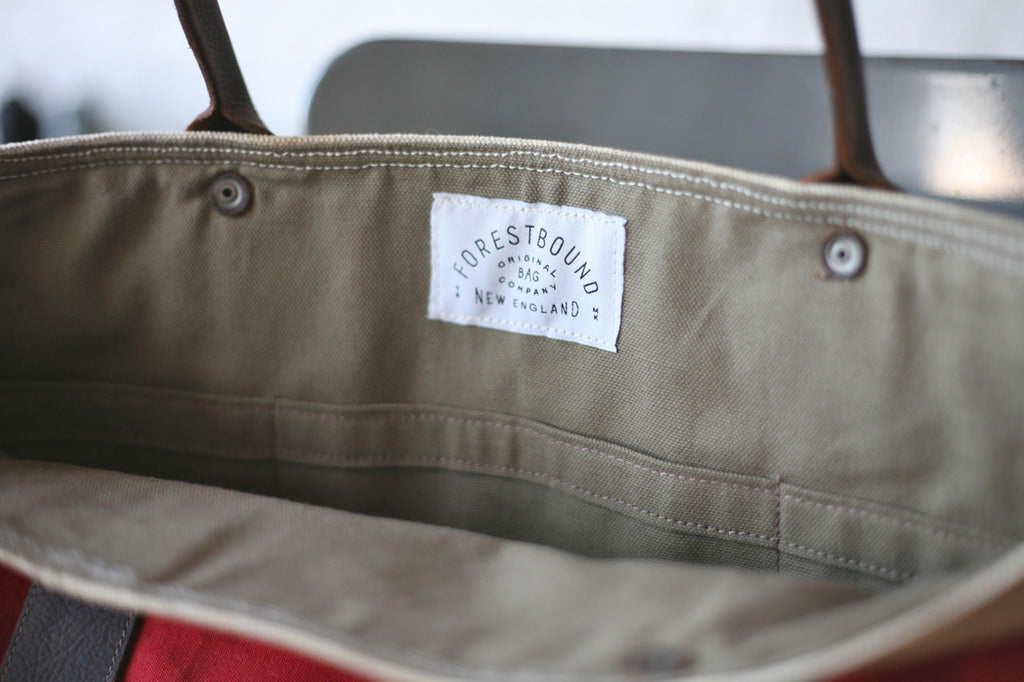 WWII era Sea Bag & Cotton Carryall