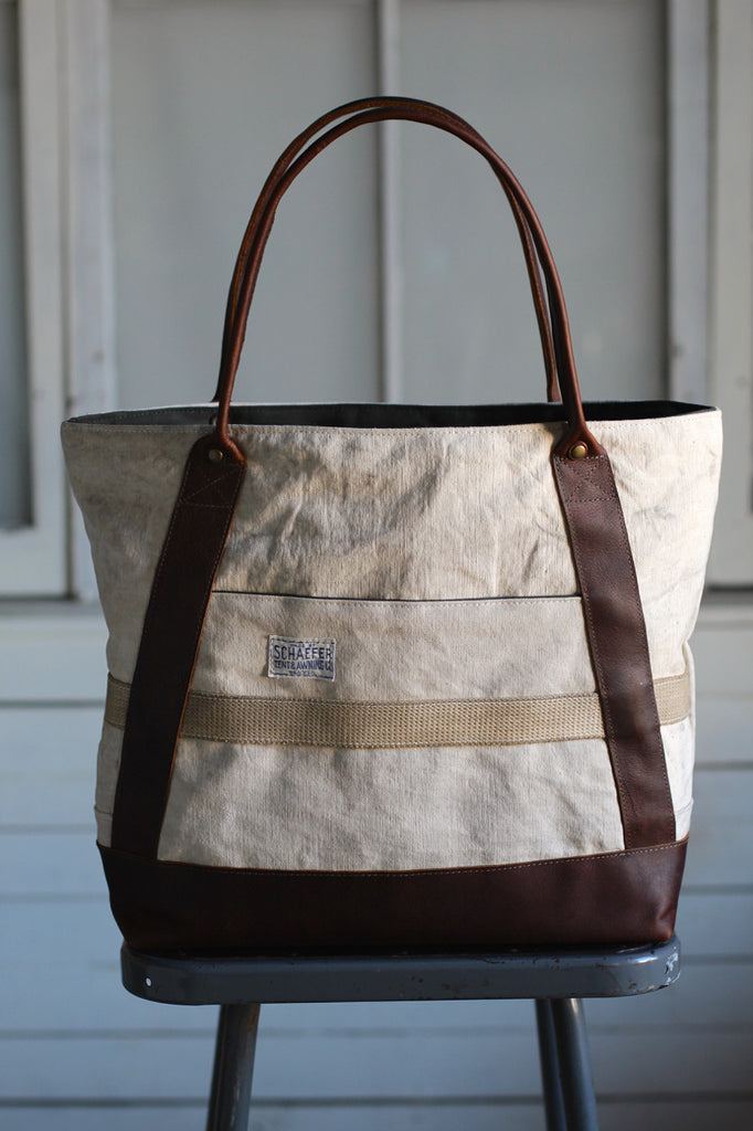 1930's era Newspaper Carrier's Bag Carryall