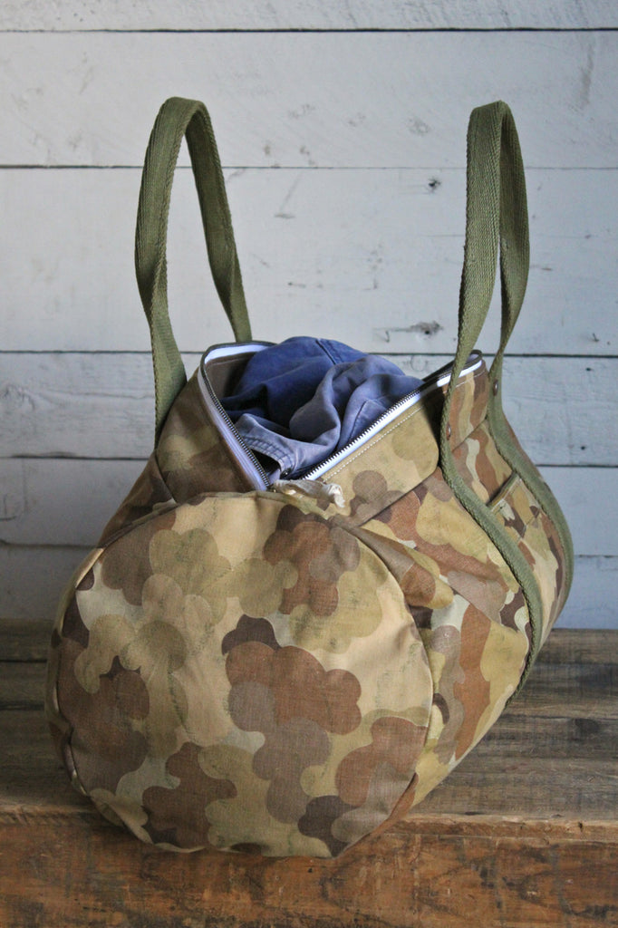 1950's era Cloud Camo Duffle Bag