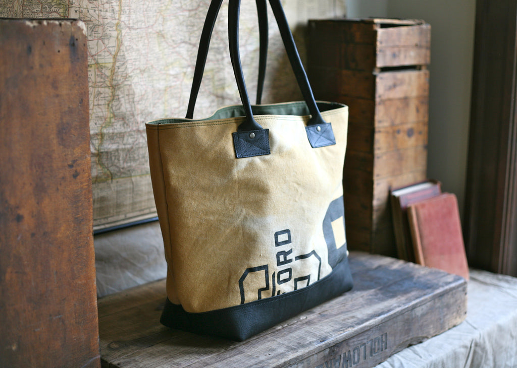 1950's era Athletic Canvas Carryall - SOLD