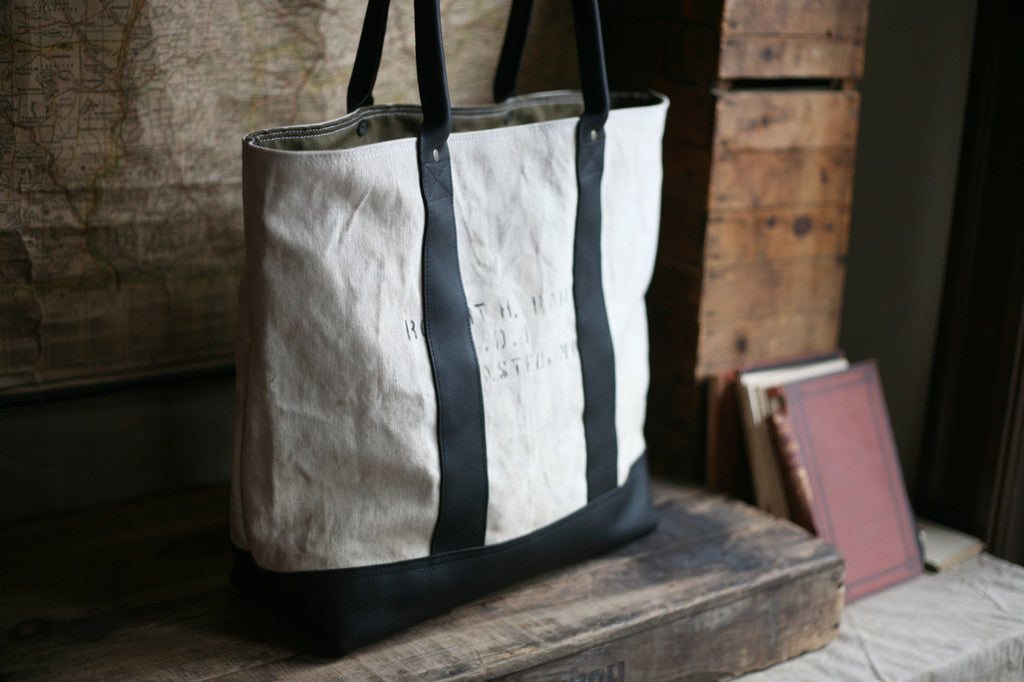 WWII era Sea Bag Carryall - SOLD
