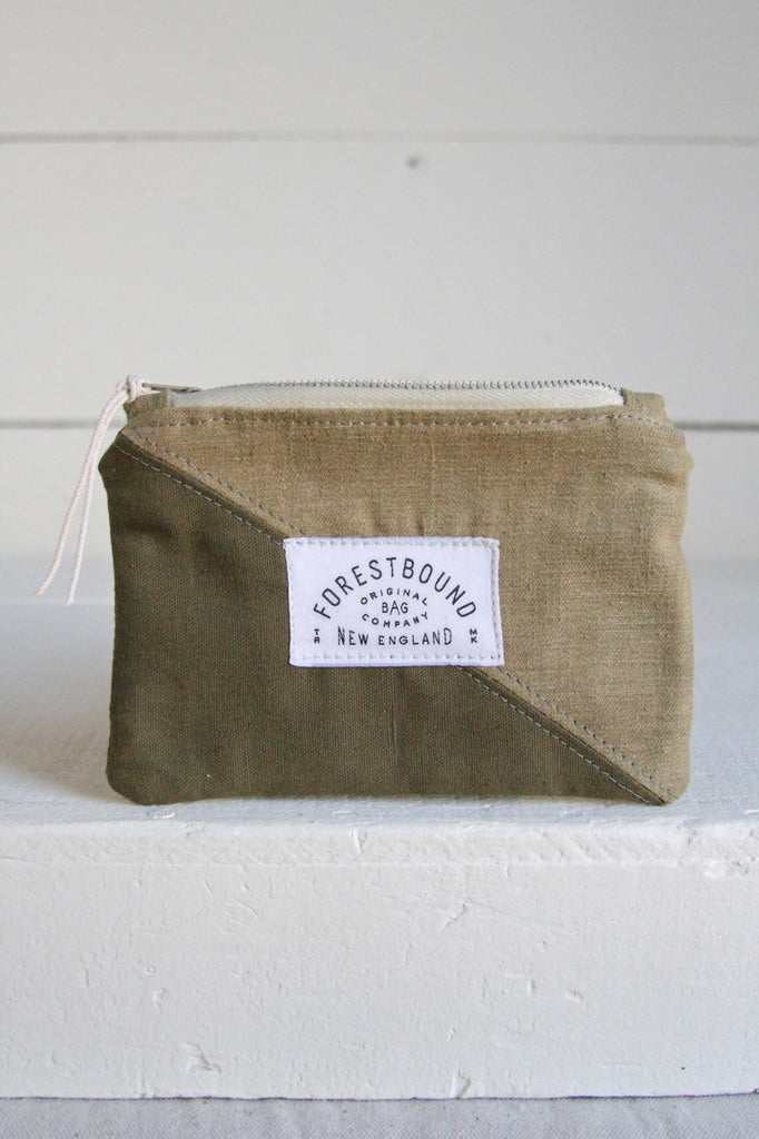 1940's era Mini Canvas Utility Pouch