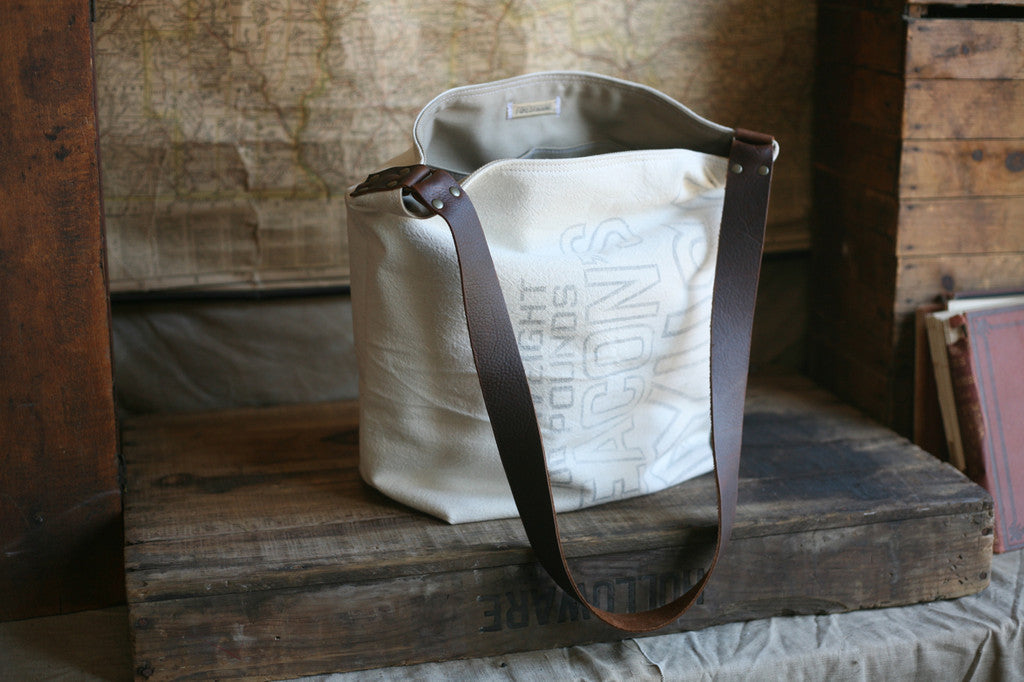 1940's era Canvas Shoulder Bag - SOLD