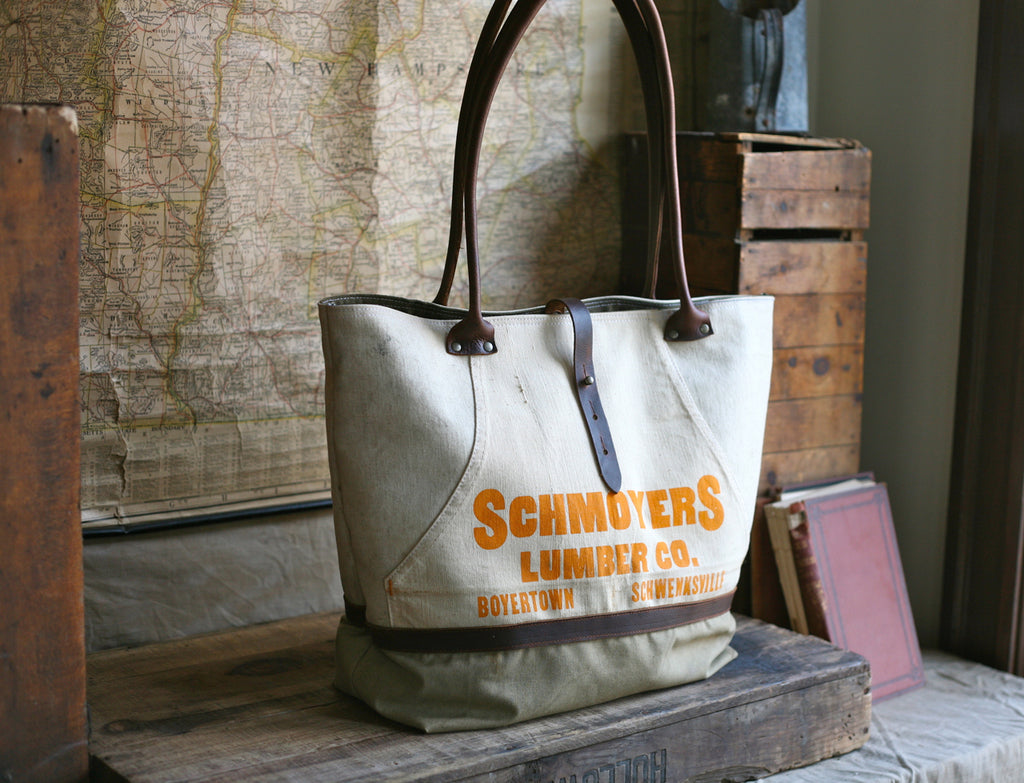 1940's era Canvas & Work Apron Carryall - SOLD