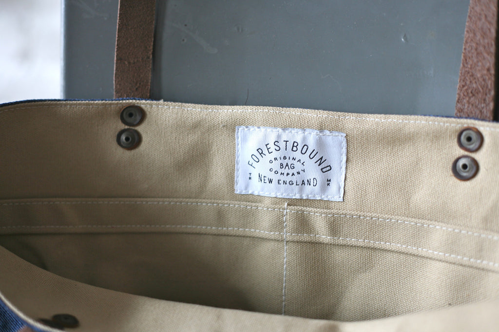 1950s era Denim & Work Apron Tote Bag