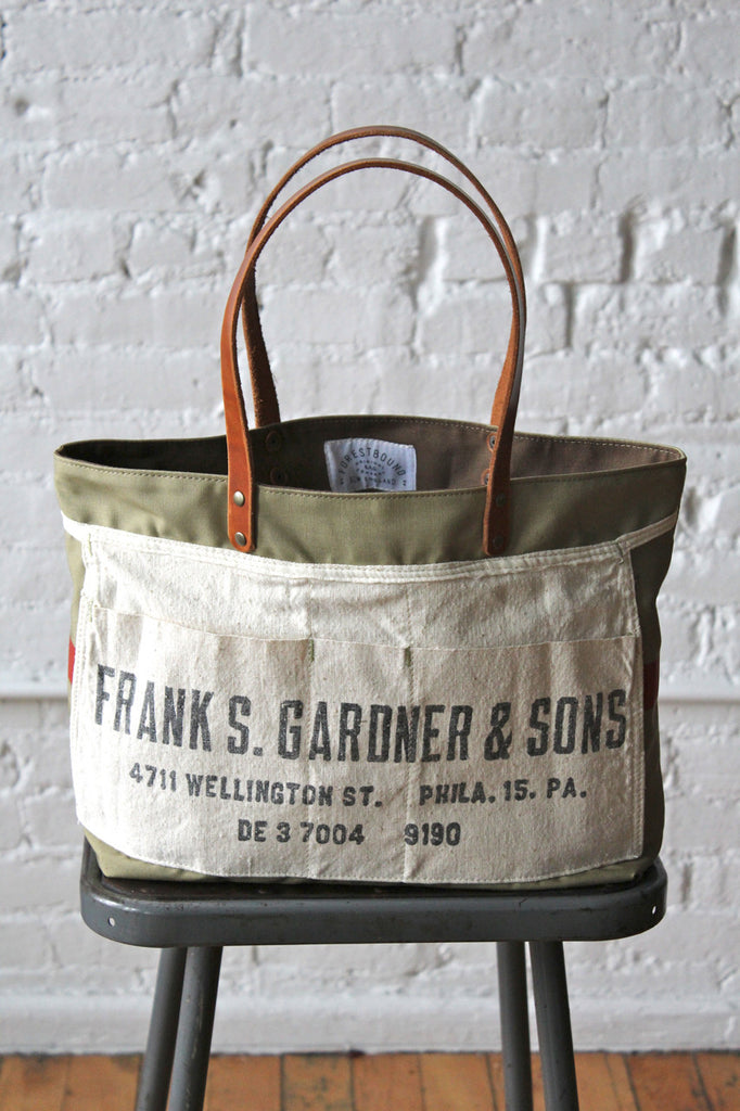 1950's era Mail Bag & Lumber Apron Tote