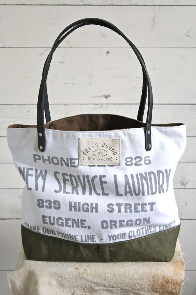 1940's era Canvas Tote Bag